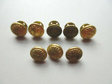 VINTAGE UNITED FRUIT COMPANY SMALL UNIFORM BUTTONS   (8 BUTTONS)