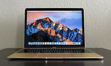 Gold LOADED Early 2015 Retina Apple Macbook 12  8GB / 256GB SSD Final Cut, CS6