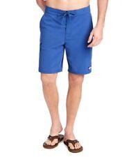 NEW Vineyard Vines men 35 Solid Stretch Board Shorts Moonshine Blue Bathing Suit