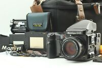 [MINT w/ Bag] MAMIYA 645 Pro Sekor C 80mm F/2.8 N Lens 120 Film Back from JAPAN