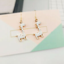 Blue Black Cool Gothic Gold Cartoon Animal Giraffe Drop Dangle Earrings Lovely