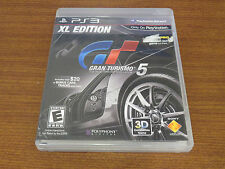 Gran Turismo 5  XL Edition Sony PlayStation 3, 2012 Complete Free Shipping PS3 E