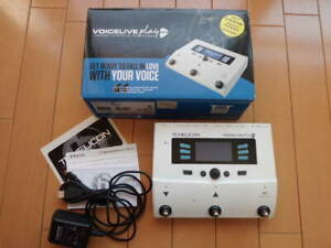 TC-HELICON VOICELIVE PLAY GTX Guitar vocal effect w/box