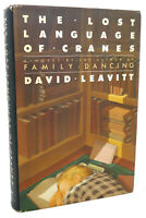 David Leavitt THE LOST LANGUAGE OF CRANES  1st Edition 1st Printing