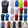 Men Sleeveless Gym Sport Body Compression Wear Base Layer Tank Top Vest Shirt