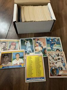 200+ 1983 OPC O-Pee-Chee Baseball Cards  – EX-NM 🔥 Lots Of Stars
