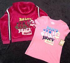 NEUF AVEC ÉTIQUETTES Juicy Couture Genuin Ans Fille 10 Pink Velours