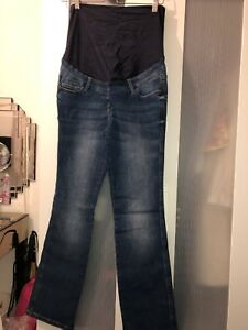 Next Womens Maternity Jeans Size 10R Bootcut