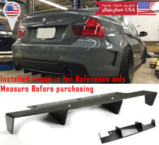 "26"" x 6.5"" Universal Texture Splitter Rear Bumper Diffuser Fin Canards For MINI"