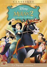 """DVD """"Mulan 2 - La Mission de l'Empereur"""" Disney n 77  NEUF SOUS BLISTER"""