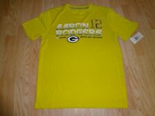 Youth Green Bay Packers Aaron Rodgers M NWT Athletic Performance Shirt