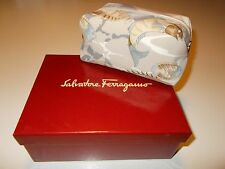 a+ (!) ferragamo cosmetics clutch . mint in box purse . travel companion bag