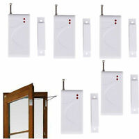 315MHz Wireless Window Door Sensor Detector Magnetic Monitor Security Alarm 5pcs