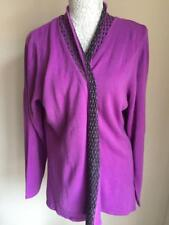 Tigi Womens Violet Long Cardigan Size 22-24 (6)