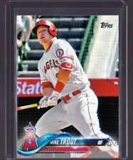 2018 Topps Series 1 #300 Mike Trout Mint Free Shipping