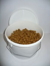 1kg of floating dog mixer/biscuits and bucket carp/coarse surface fishing