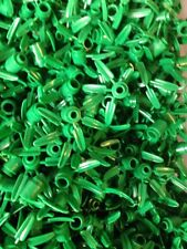 100 New Lego 1x1 round green Bamboo Plant 3 Leave Tree Foilage Flower Part 30176