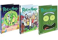 RICK AND MORTY - SERIE COMPLETA 01 - 03 MediaBook Collector's Edition (6 DVD)