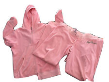 VINTAGE Juicy Couture Embellished Track Suit Women's Size Large