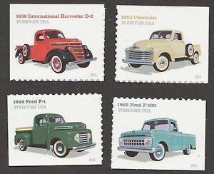 US 5101-5104 Pickup Trucks forever set (4 stamps) MNH 2016