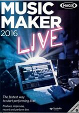 MAGIX Music Maker 2016 Live (NEW)