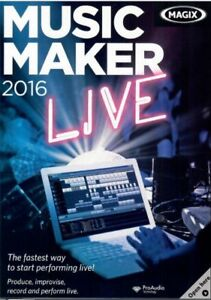 MAGIX Music Maker 2016 Live (NEW)