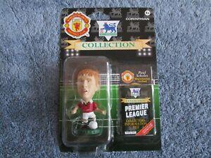 Rare Paul Scholes Manchester United Corinthian Collection Blister MUS21 1995/96