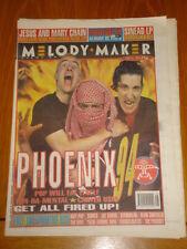 MELODY MAKER 1994 JULY 16 PHOENIX 94 POP WILL EAT ITSELF IGGY POP