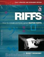 Riffs : How to Create and Play Great Guitar Riffs, Paperback by Rooksby, Rikk...