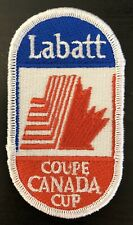 1991 Canada Cup Tournament Patch Labatt Coupe Canada Cup Team Canada Team Usa