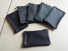 Porte monnaie + porte clefs cuir leather wallet keyring schlüsselring leder.NOS