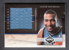 Lazar Hayward 2010-11 Panini Limited Rookie Freshman Jumbo Jersey Card #30
