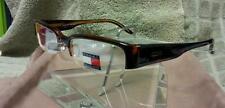 Tommy Hilfiger Eyeglasses Plastic Rimless Tortoise Shell Nice