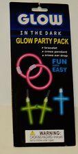 1 Set GLOW PARTY PACK Get Bracelet CROSS Pendant& CROSS Ear Drops NIP