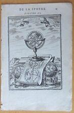 MALLET: Terrestial Celestial Globe Worldmap - 1683