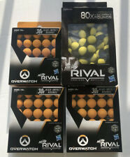 NERF Rival Overwatch Balls 170x High Impact Rounds Refill Pack - Lot Bundle