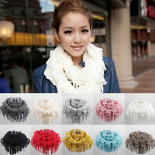 Infinity Patternless Scarves for Women