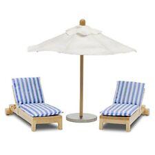 Lundby 60.9048.00 lettino e ombrellone Mini Bambola con Accessori
