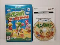 Yoshi's Woolly World (Nintendo Wii U) Complete!