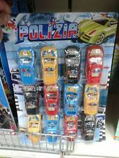 12 aut car macchine polizia gioco di qualità giocattolo toy a20 natale