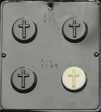 Plain Cross Oreo Cookie Chocolate Candy Mold Religious  1645 NEW