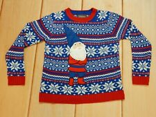 33 Degrees Ugly Christmas Sweater Elf Christmas  - Size M