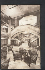 Shipping Postcard - S.S.Ile De France - Main Foyer & Grand Staircase B1203