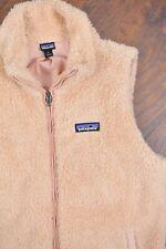 Patagonia Los Gatos Fleece Vest Light Pink Women's Large L