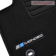 Mattenprofis Velours Logo Fußmatten für Ford Mondeo IV ab Bj.03/2007 - 2014