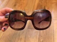 Tom Ford Women's oversized sunglasses/ Brown