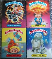 1985 GPK FOLDERS (Lot of 4) GARBAGE PAIL KIDS *MINT CONDITION* ADAM BOMB RARE!!