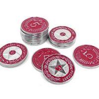 Scythe $5 Metal Coins, $5 Monete in Metallo, Stonemaier Games