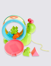 Snail Shape Sorter toy Marks & Spencer Baby Toy activity new multicolour creativ