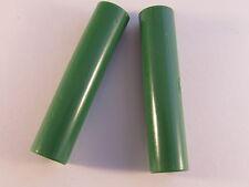 2 Stück - Hirschmann KD10 Kupplung (grün isoliert) für 4mm Stecker - 2pcs